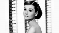 audrey hepburn schauspielerin schwarz-weiß-fotos retro
