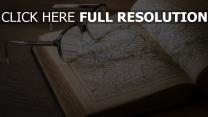 brille buch atlas karten retro