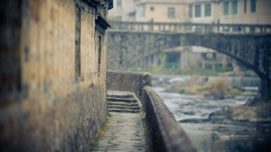 steinmauer  brücke wand architektur