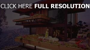architektur amerikanisch haus retro design