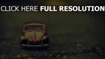volkswagen beetle miniatur auto retro