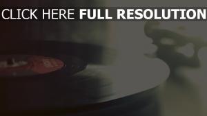 vinyl musik retro-bild