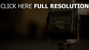 mikrofon retro alt