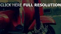roller kette park retro