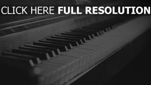 tasten klavier retro foto