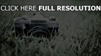 gras kamera speicher retro
