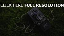 lubitel linse retro kamera gras