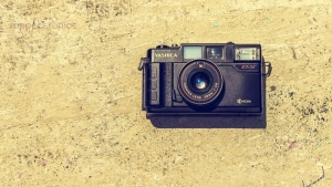 kamera retro yashika gedächtnis linse