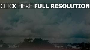 stadt landschaft himmel wolken gedächtnis retro