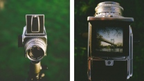retro kamera objektiv hasselblad