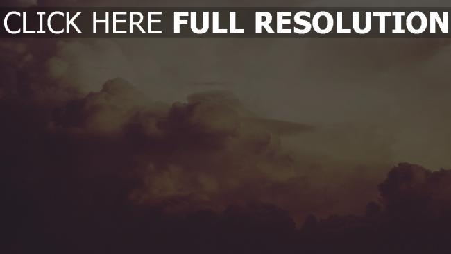 hd hintergrundbilder wolken himmel rauch altes foto