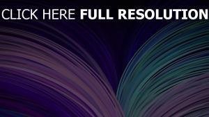 neon flow licht linien hell