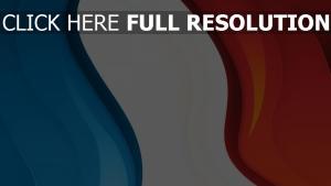französisch dreifarbige fahne licht