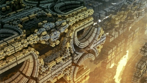 alien architektur grau hell