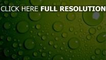 tropfen blasen wasser grün hell