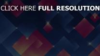 quadrate funkeln rosa blau