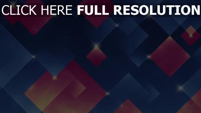 hd hintergrundbilder quadrate funkeln rosa blau