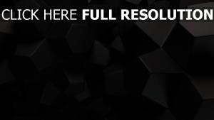 fünfecken form größe beschaffenheit schwarz