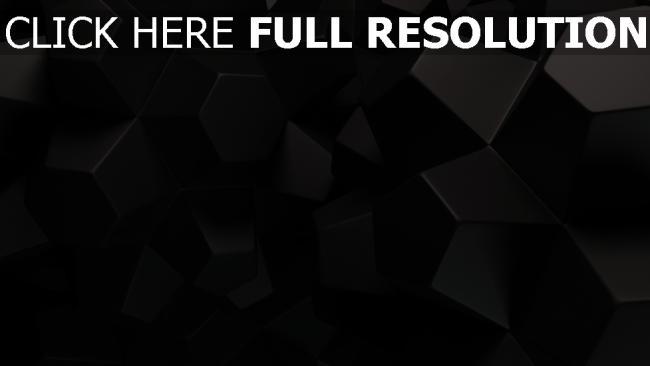 hd hintergrundbilder fünfecken form größe beschaffenheit schwarz