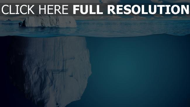 hd hintergrundbilder tiefe eis eisberg wasser blau