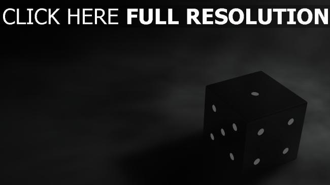 hd hintergrundbilder würfel spiel schwarzes punkte dunkel