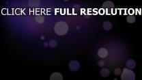 kreise glühwürmchen glühen lila