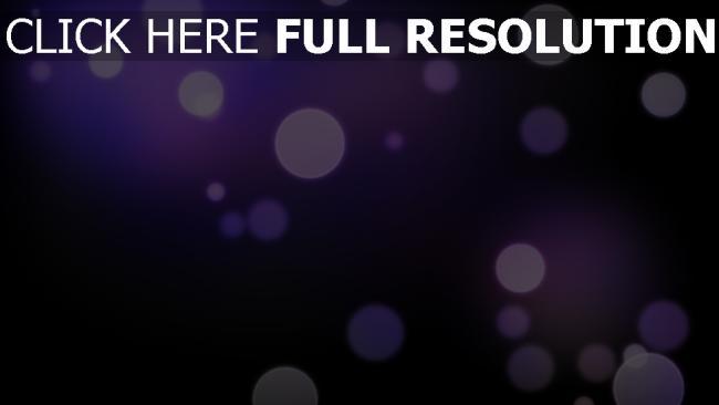 hd hintergrundbilder kreise glühwürmchen glühen lila