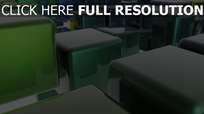 hd hintergrundbilder würfeln grün glas spiegelung licht