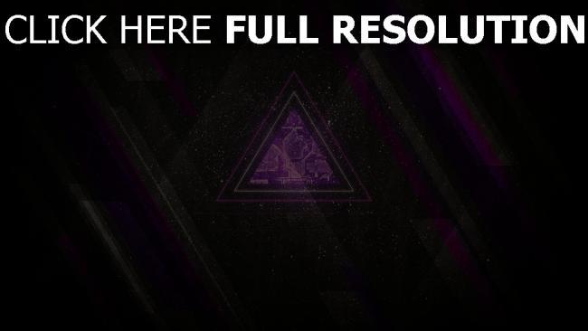 hd hintergrundbilder dreieck linien lila grau schwarz