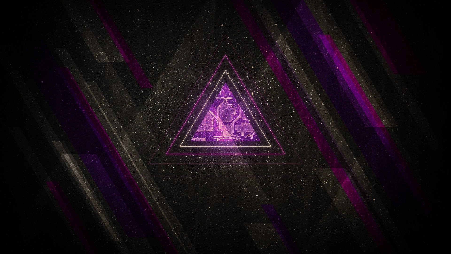 Hd hintergrundbilder dreieck linien lila grau schwarz, desktop ...