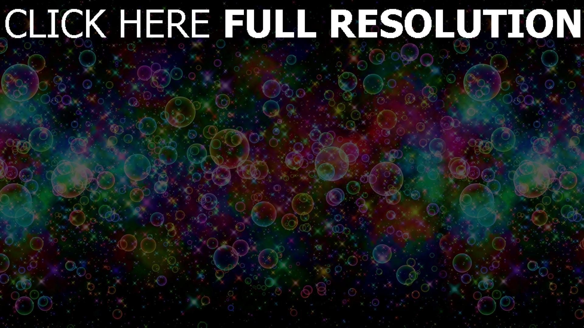 hd hintergrundbilder blasen bunt regenbogen hell 1920x1080