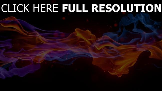 hd hintergrundbilder rauch flammen hell dunkel