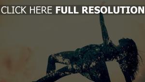 mädchen tanz kleid blumen hell