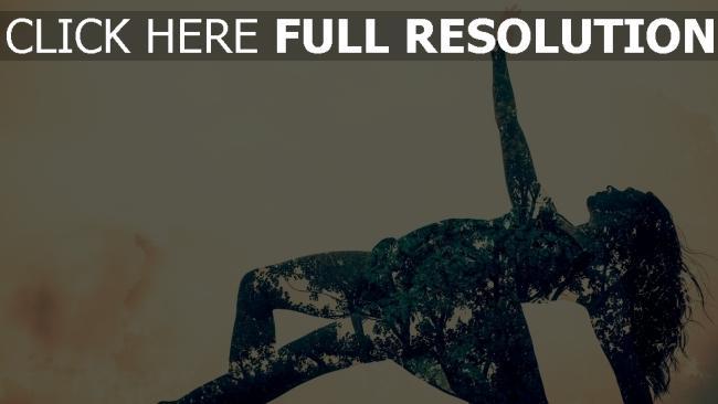 hd hintergrundbilder mädchen tanz kleid blumen hell