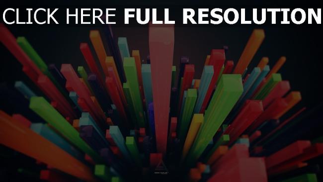 hd hintergrundbilder spalten grafiken bunt volumen