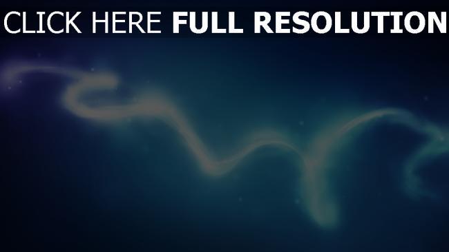 hd hintergrundbilder flow glühen neon kurve blau