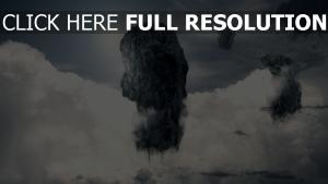 Himmel abstrakt Wolken Rock