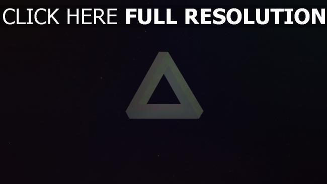 hd hintergrundbilder Licht Dreieck Dunkelheit Form