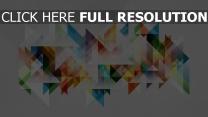Farben Geometrie Formen Abstraktion