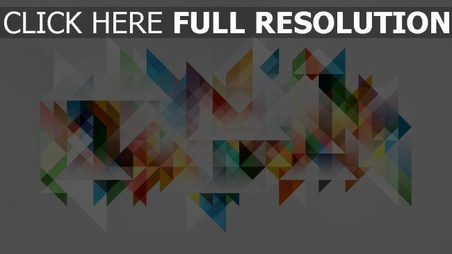 hd hintergrundbilder Farben Geometrie Formen Abstraktion