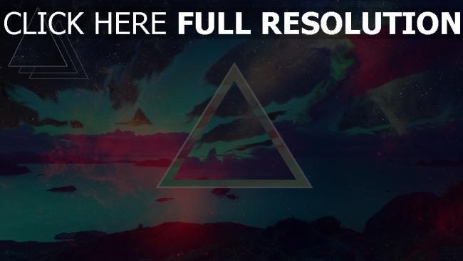 hd hintergrundbilder Dreieck  Dunkel  Flecken  Hintergrund