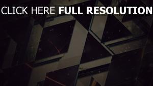 Dreiecke  leicht  schwarzes  hintergrund