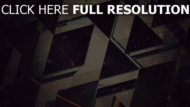 hd hintergrundbilder Dreiecke  leicht  schwarzes  hintergrund