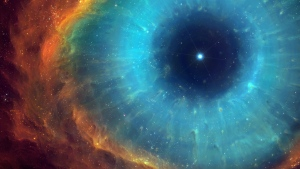 Raum Sterne Nebelfleck Energie Strahlen