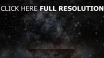 sterne dreiecke formen schwarzes