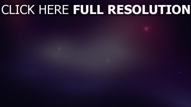 hd hintergrundbilder nebelfleck sterne raum blau lichter
