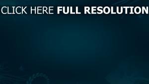 muster zeichnungen minimalismus blau