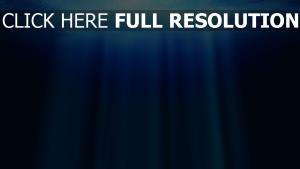 wasser tiefe licht strahlen blau