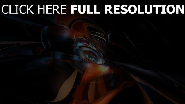 hd hintergrundbilder kurven formen licht wirbeln dunkel