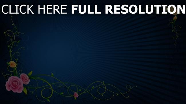 hd hintergrundbilder farben linien muster strahlen blau